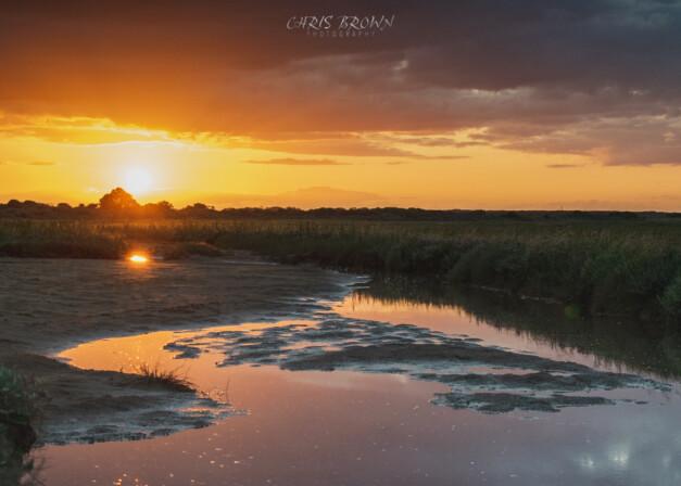 Saltfleet Sunset, Lincolnshire